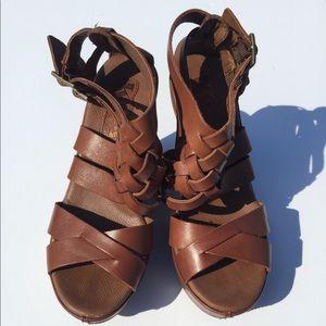KORKS Ease Strappy  Platform Sandals Heel Wedge